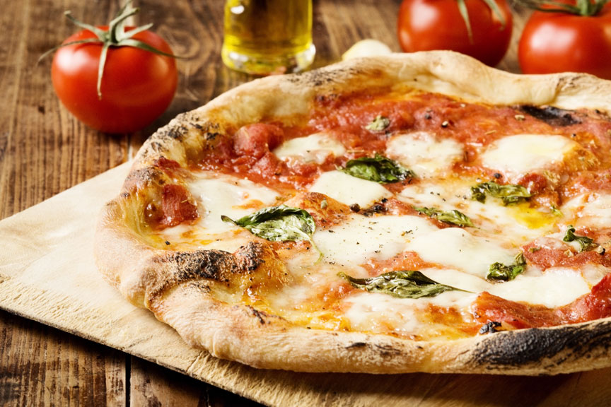 Pizza at Cosentino Pizzeria